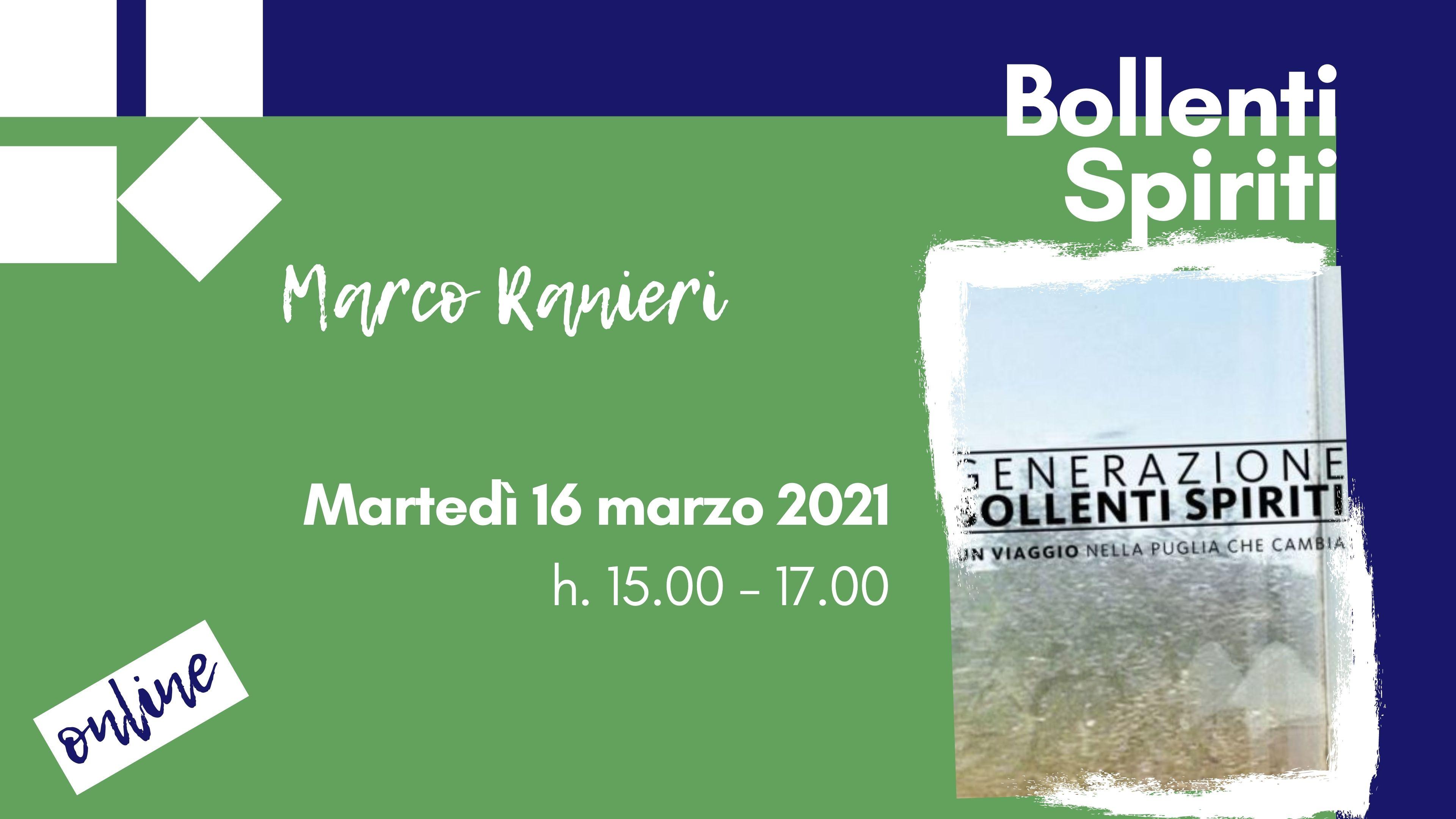 Bollenti Spiriti - 16 marzo 2021