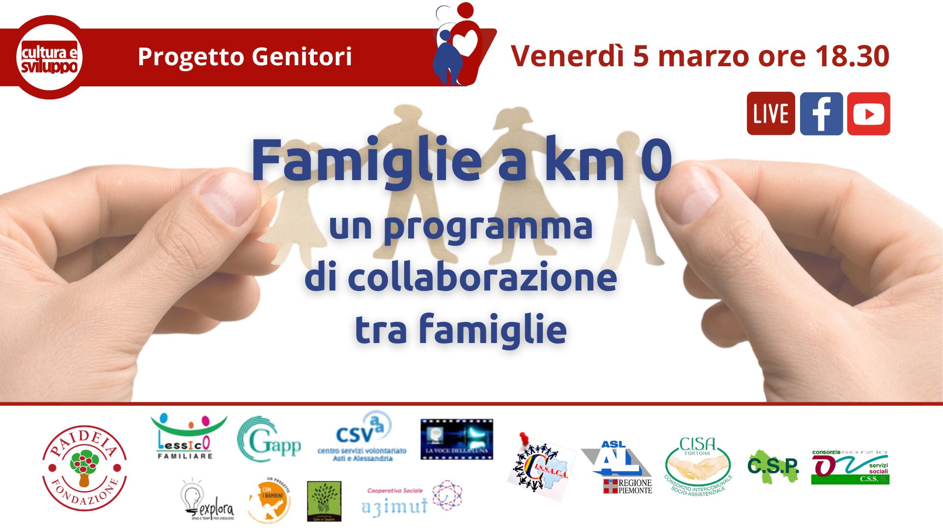 Famiglie a km 0: un programma di collaborazione tra famiglie