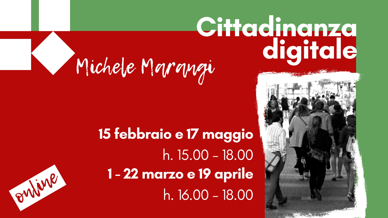 Cittadinanza digitale - 22 marzo 2021